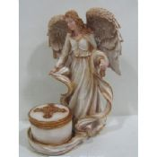 Poly resin art Fairies and Angel Collectible Figurines images